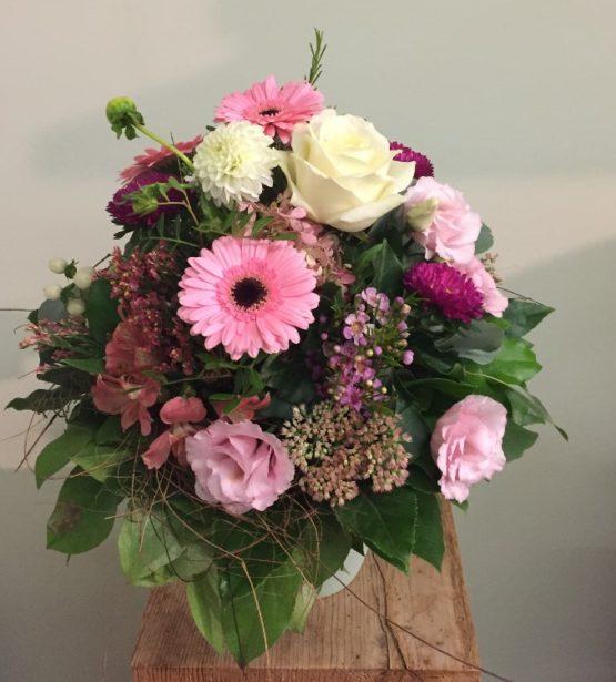 Blumenstrauss weiss rosa